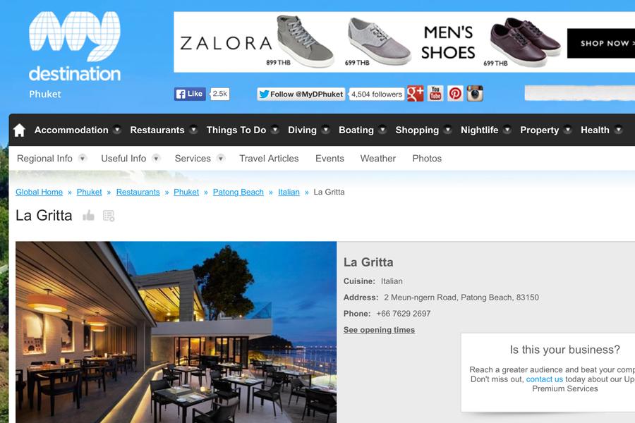 La Gritta - Italian Restaurant